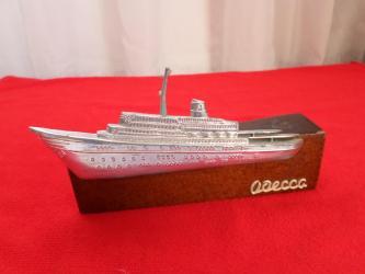 Модели кораблей - Бишкек: Сувенир из СССР. советский сувенир ОДЕССА. Основание дерево, кораблик