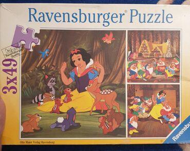 Puzzle - Srbija: RAVENSBURGER puzzle- puzle. 147 komada.3 PAZLA, svaki po 49