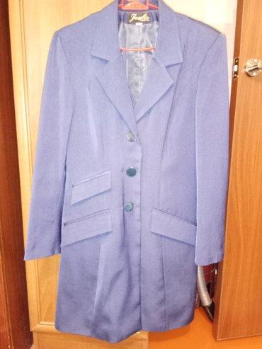 Удлинённый пиджак. Состояние отличное. 46 размер. 0555950884 в Бишкек