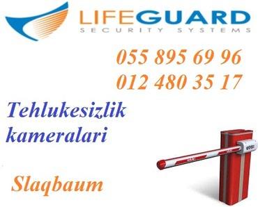 Bakı şəhərində ❖Turniket, slaqbaum❖ LifeGuard shirketi sizin tehlukesizliyinizi