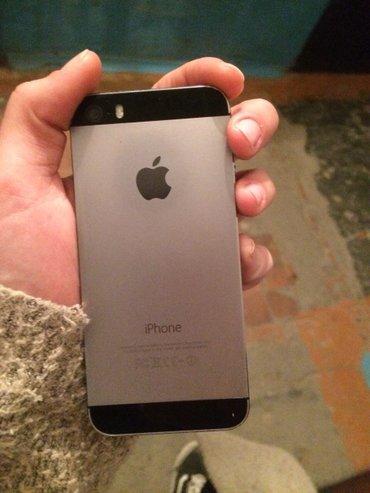 Iphone 5s space grey... состояние хорошее. в Токмак