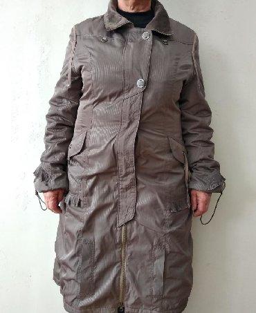 утепленное пальто в Кыргызстан: Пальто утепленное с капюшоном новое. Размер 48-50 XL