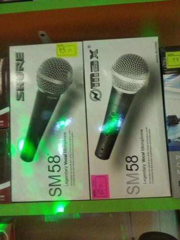 Mikrofonlar Azərbaycanda: Mikrafon sunurlu Max və şur