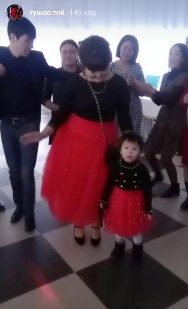 цеф 3 цена в Кыргызстан: Юбки мама дочка Мама размер 46-48Дочка на 3-4 летОчень красивый