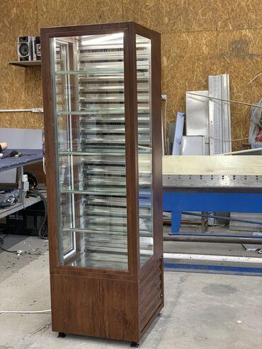 витринный холодильник купить в Кыргызстан: Новый Холодильник-витрина Черный холодильник