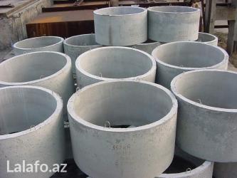 Bakı şəhərində Beton panellər, beton piltələr, beton bardyorlar, kanalizasiya
