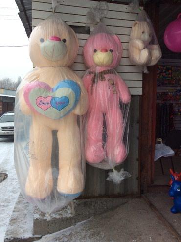 Огромная мишка! Мишки Медведи дешево! 160см 2 метра высоты в Бишкек