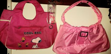 ** Dve N0VE torbice ** + poklon roze slušalice, takodje NOVE