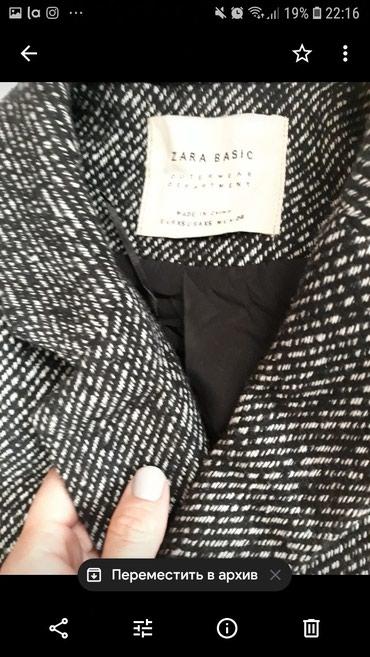 Пальто от zara, качество супер! в Бишкек