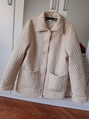 Jakne zenske - Srbija: Zenska,stepovana,lagana jakna kao nova par puta obucena.Velicina XL