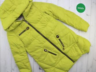 Личные вещи - Украина: Женская теплая куртка с капюшоном Meajiateer, р. S    Длина: 75 см Рук