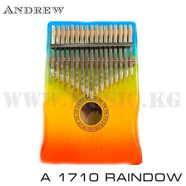 Другие музыкальные инструменты - Кыргызстан: Калимба Andrew A-1710 RainbowБренд: AndrewКорпус: Специальный вырез