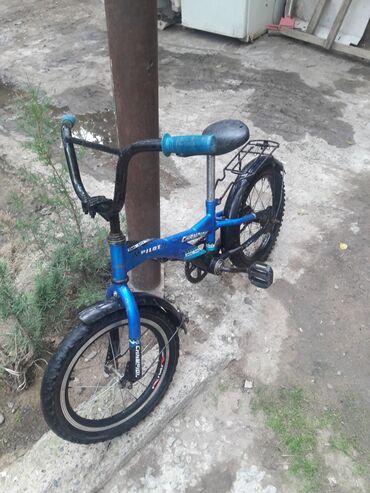 16 dyumlu velosiped - Azərbaycan: İşlənmiş 16 lıq velosiped yaxşı vəziyyətdədir