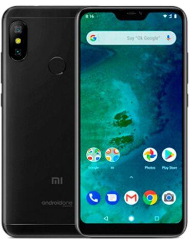 Электроника - Ноокат: Б/у Xiaomi Mi A2 Lite 64 ГБ Черный
