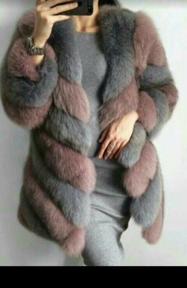 Suknja duzina duga - Srbija: Nova luksuzna,bogata,svecana,bunda od krzna lisice. Gusta I duga dlaka