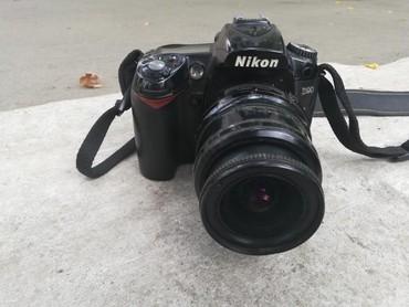 Nikon D 90,əla vəziyyətdədir. Obyektiv 18_24.İlk özümdə olub.yüksək çə