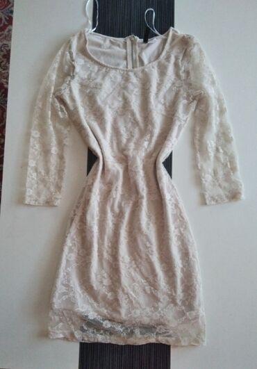 50 oglasa: Predivna, bela cipkana haljina. Kupljena u HM, kratko je nosena ali je