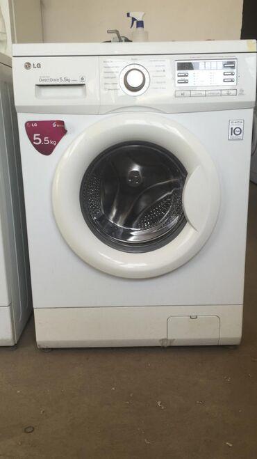 Продаю стиральную машину автомат LG Direct Drive 5.5кг в отличном