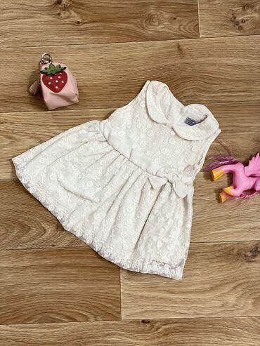Платье для девочкиРазмер 6-9 месяцев (80 см)Производитель ТурцияОдин