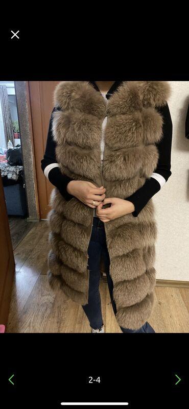 Продаю жилетку натуралка  Песец  Одевала 2 раза