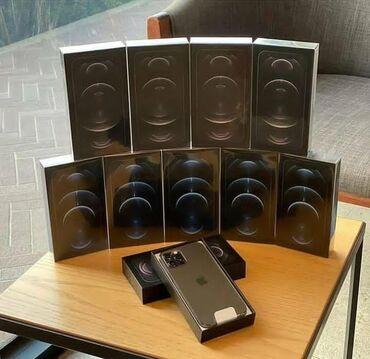 IPhone 12 Pro Max | 256 ГБ | Черный | Новый | Гарантия, Беспроводная зарядка, Face ID