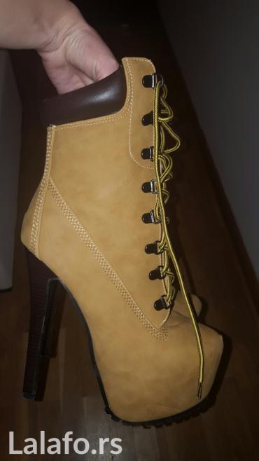 Nove kitten fenomenalne duboke cipele-cizmice 39 broj - Belgrade