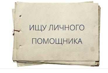 Требуется помощник экономиста в в Бишкек