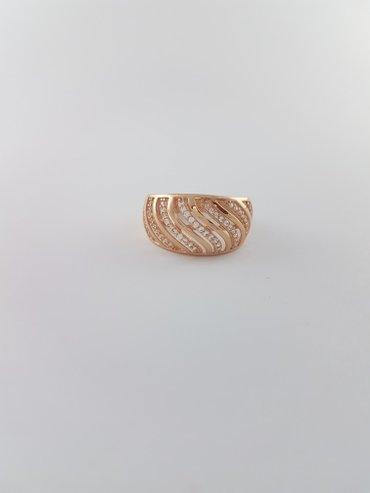 кольцо из красного золота 585 проба. размер кольца 19.0 в Бишкек
