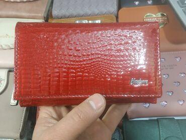 сумка для малышей в Кыргызстан: Женский кошелек из натуральной кожи под рептилию