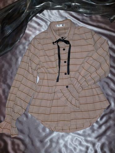 fiat 850 в Кыргызстан: Новая блузка в корейском стиле, заказывала из интернет магазина, разме