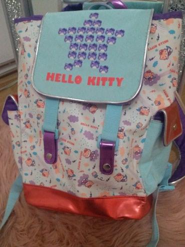 Jako lep Hello Kitty ranac za devojcice, jako malo koriscen - Ruma