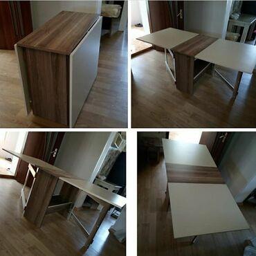 Yeni model kepenek stol,yeniden satisda.2 renglidir. Qiymeti 120 azn