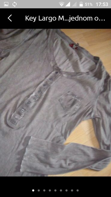 Pamučna bluza nova Key Largo M/L - Vranje