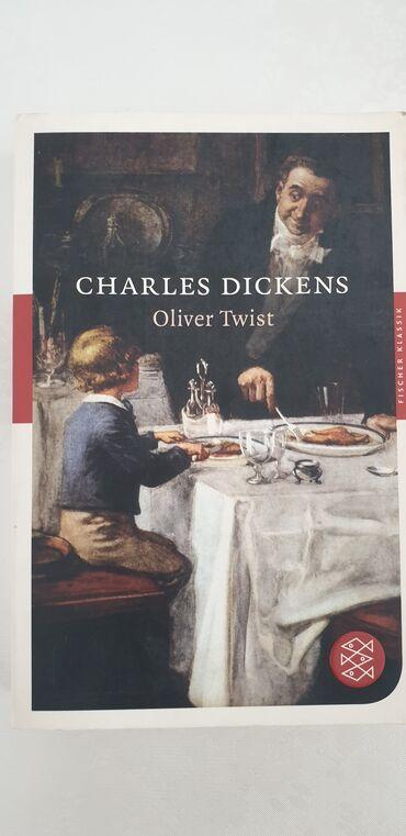 """Книга Чарльз Диккенса """"Оливер Твист"""" на немецком языке"""