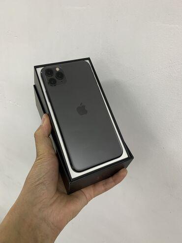 айфон 11 цена в бишкеке в Кыргызстан: Б/У IPhone 11 Pro Max 256 ГБ Черный