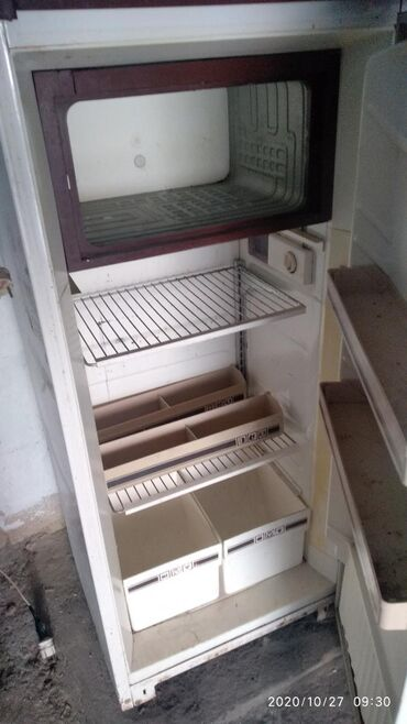 Б/у Однокамерный Белый холодильник Орск