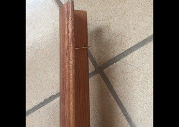 фанера бишкек in Кыргызстан | ГРУЗОВЫЕ ПЕРЕВОЗКИ: Уголок 3 см х 3 см, декоративный, деревянный, б/у, хорошо
