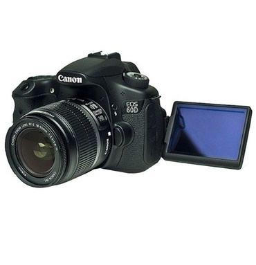 Продаю фотоаппарат canon 60D с объективом canon 18-135 в Бишкек