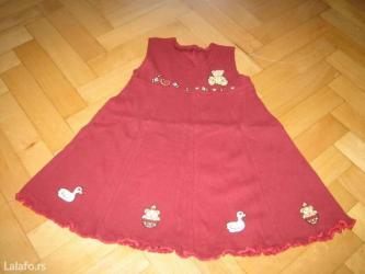 Dečija odeća i obuća - Barajevo: Nove pamucne haljine vel 2,4,6,8,god imamo veliki izbor nove jeftine