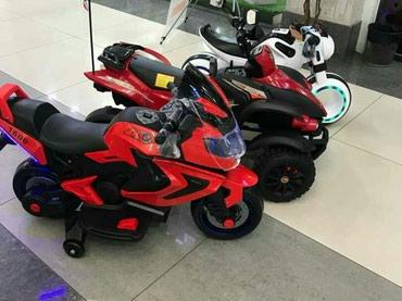 Мотоциклы и квадрациклы для детей с электроприводом в Бишкек