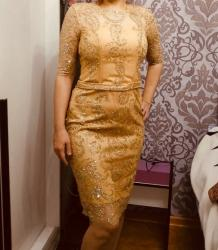 вечернее платье в горошек в Кыргызстан: Вечерние платье. сшито на заказ . Одевала один раз . Сшила за 10000