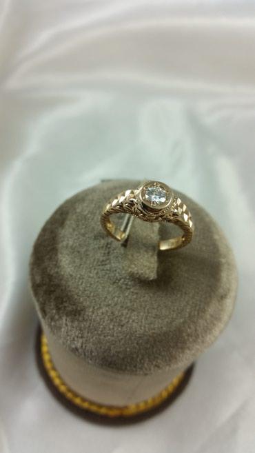 Кольцо с муассанитом 1кр57-0,30 3/3 Размер: 17.5 36400 Сом в Бишкек