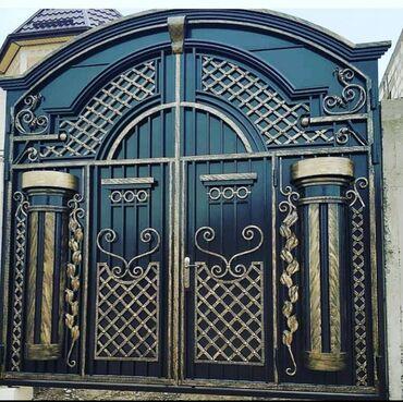 услуги аргонной сварки в Кыргызстан: ️️ворота!!!ворота!!!ворота!!!дарбаза!!!изготавливаем ворота любой