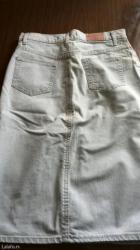 Teksas suknja sa elastinom,broj 29,ocuvana,nosena par puta - Pozega
