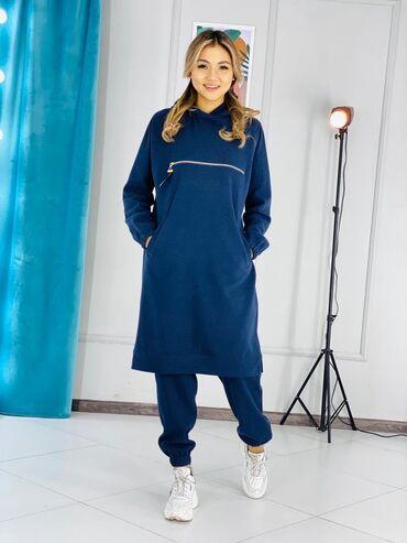 платье резинка трикотаж в Кыргызстан: 💐С нова в наличии 💐Двойка💐Ткань трикотаж кашемир турция 💐размеры