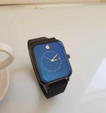 curren saatlari - Azərbaycan: Gümüşü Uniseks Qol saatları Apple