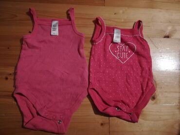 Pink kosuljoca - Srbija: C&A pink bodići, veličina 62, jednom obučeni