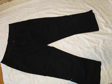 Zenske pantalone crne - Srbija: Zenske 3/4 pantalone kao nove 29 vel