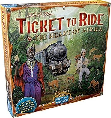 Days of Wonder Ticket to Ride: Map Collection Volume 3 - The Heart of в Бишкек
