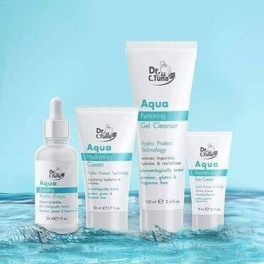 Nova linija za negu kože Aqua namenjena je suvoj, umornoj